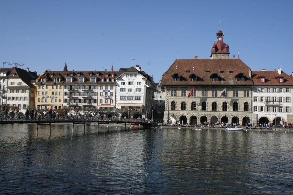 Unterwegs im sonnigen Luzern