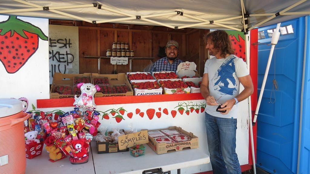 Juhuu...Kalifornische Erdbeeren