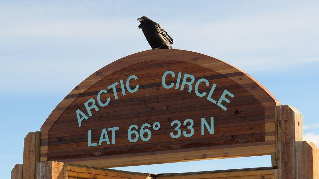 Wieder am Arctic Circle