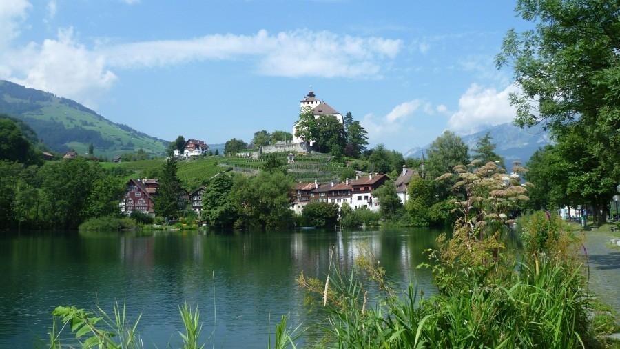 Spaziergang durch Werdenberg
