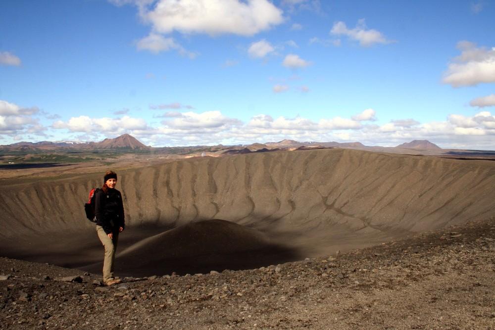Wir drehen eine Krater-Runde