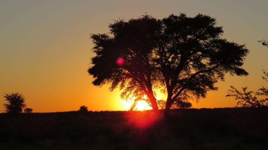 Sonnenaufgang an unserem ersten Tag