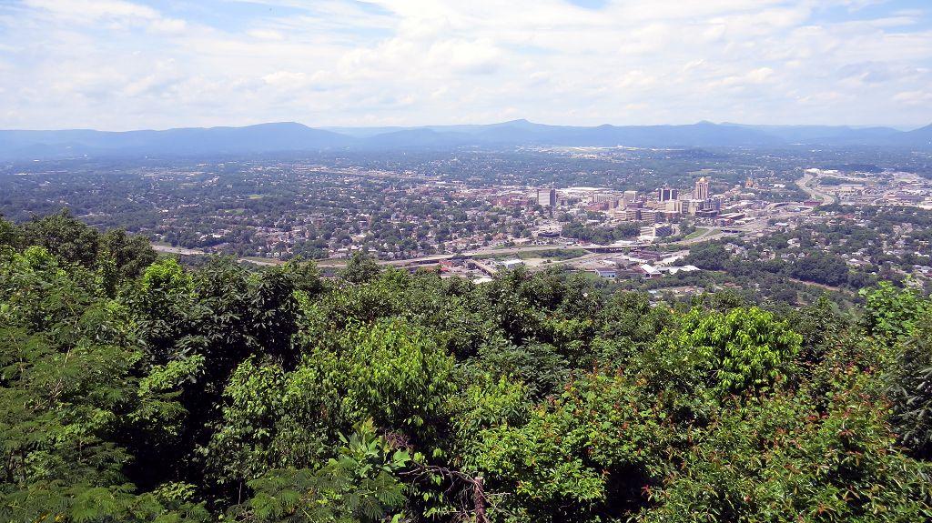 Blick auf Roanoke