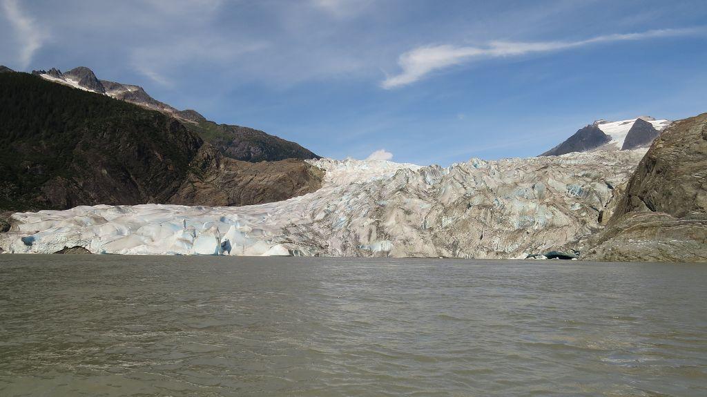Mit dem Schlauchboot zum Gletscher