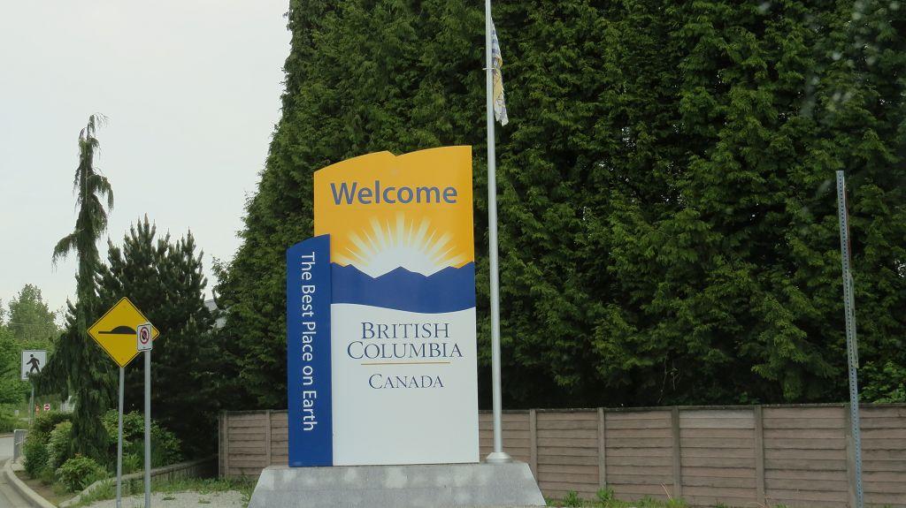...und schon sind wir in Kanada