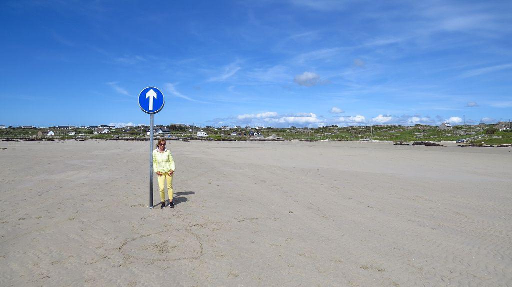 Bei Ebbe kann man zur Insel Obey laufen