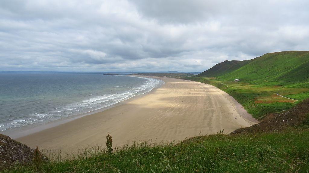 Beach am Worms-Head