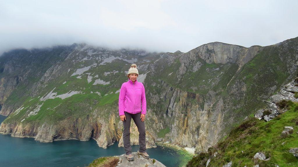 ...und Wanderung auf die Klippen SLIEVE LEAGUE