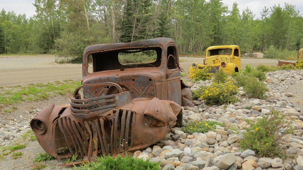 Unterwegs auf dem Alaska-Highway