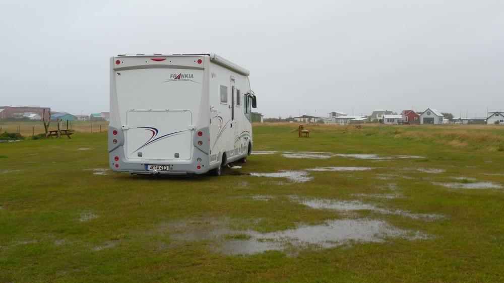 Seenlandschaft auf unserem Campingplatz
