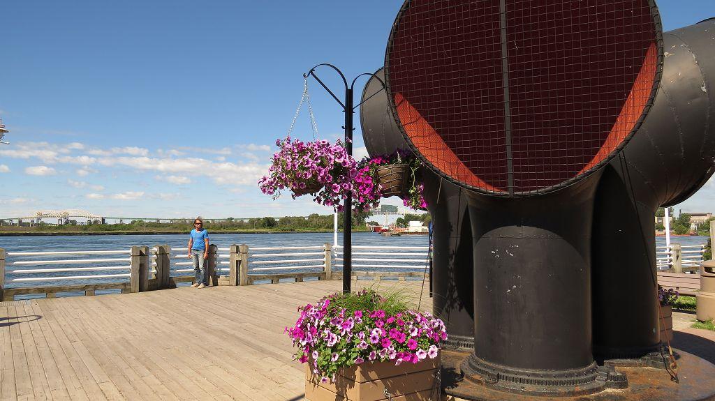 Waterfront in Sault Ste. Marie