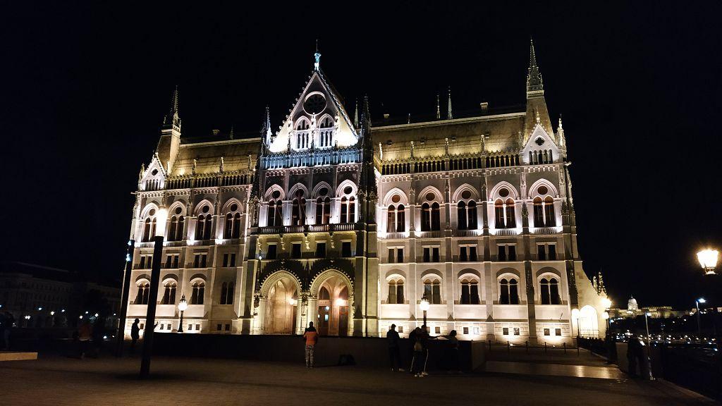Ankunft in Budapest