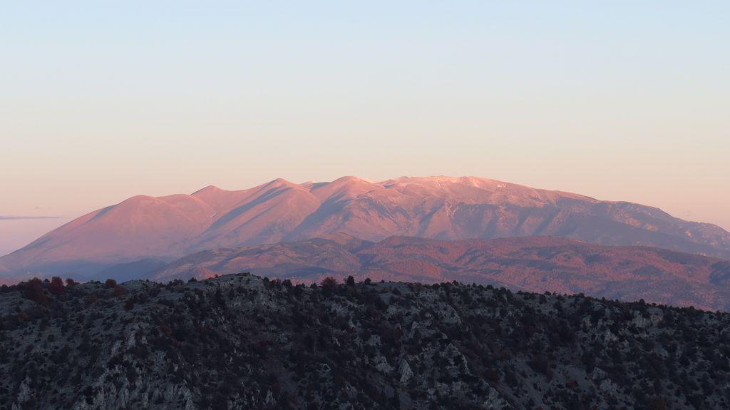 Sonnenaufgang am Olympos