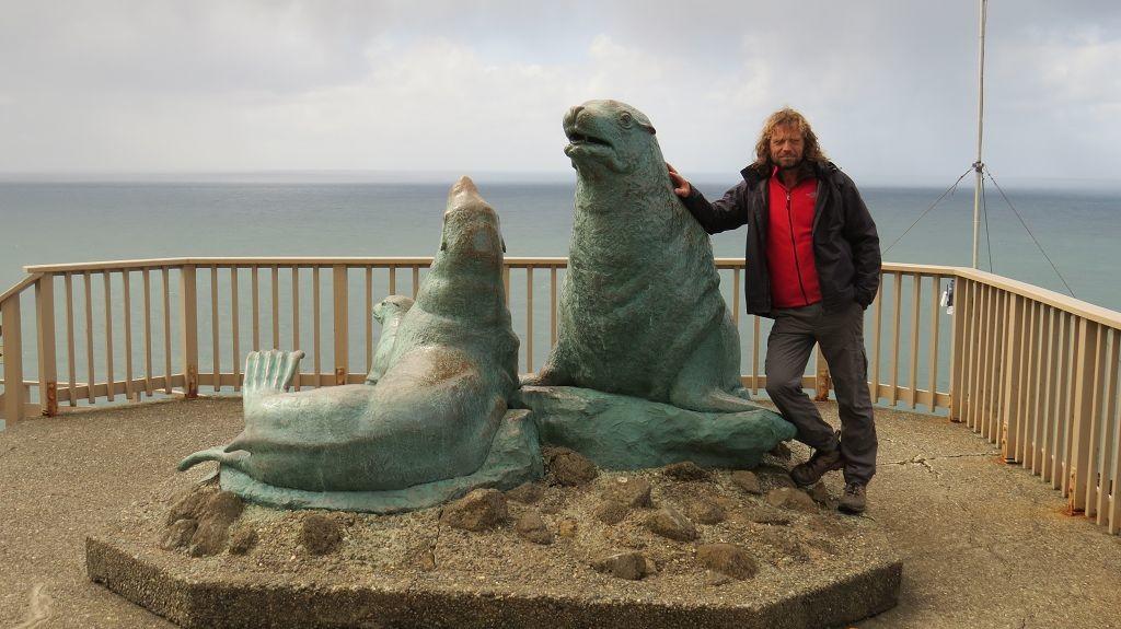 Wir erreichen die Sea Lion Caves