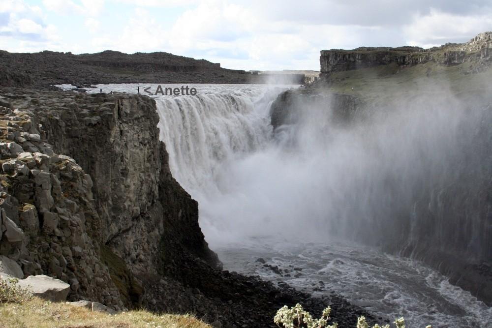 ...und hier ist er, der gewaltigste Wasserfall Europas