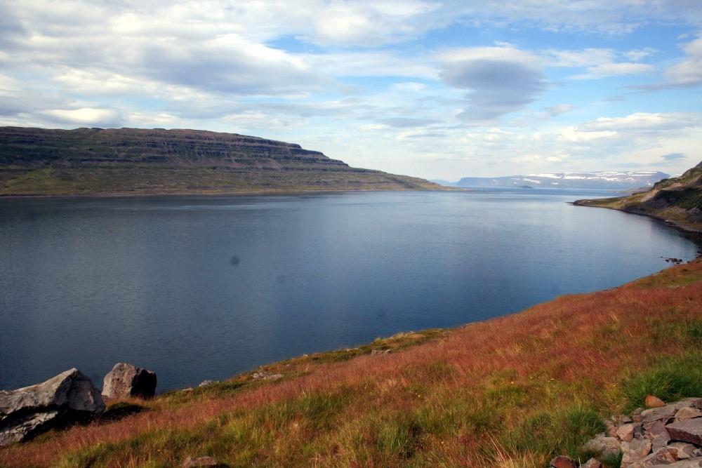 Die Westfjorde...