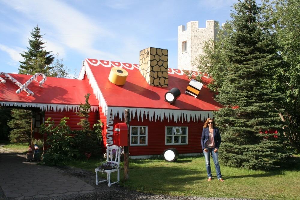 Das Weihnachtshaus