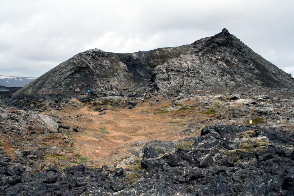 Der Krater Hofur