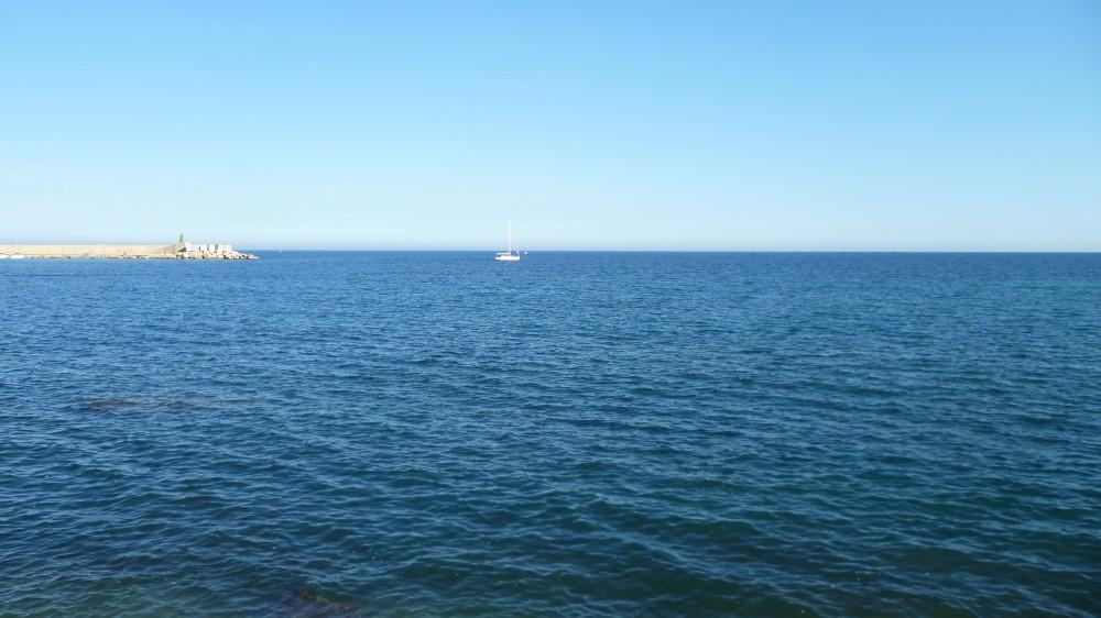 ...über's Mittelmeer...