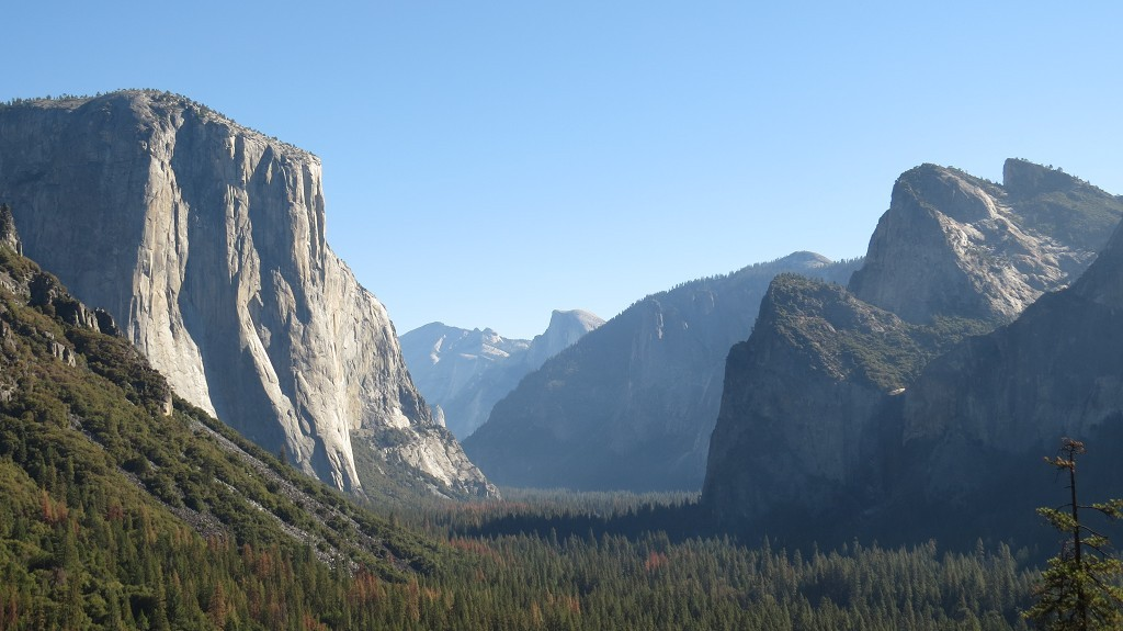 El Capitan und Cathedrale Rock