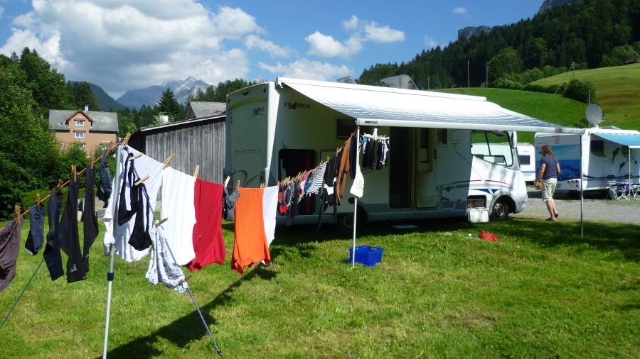 Waschtag mit Säntisblick