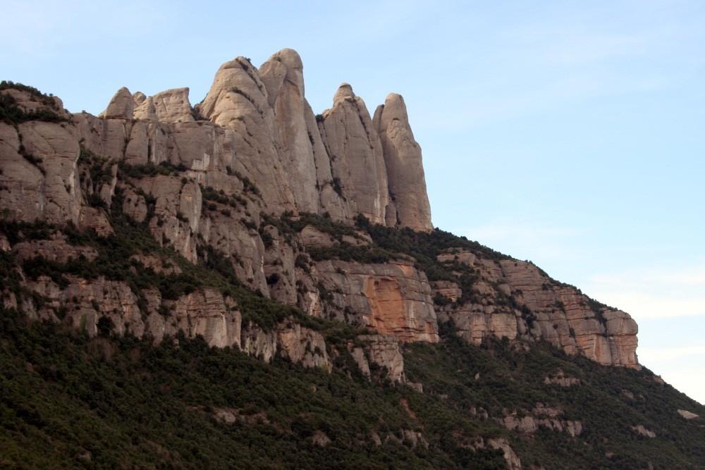 """Montserrat, der """"gesägte Berg"""""""