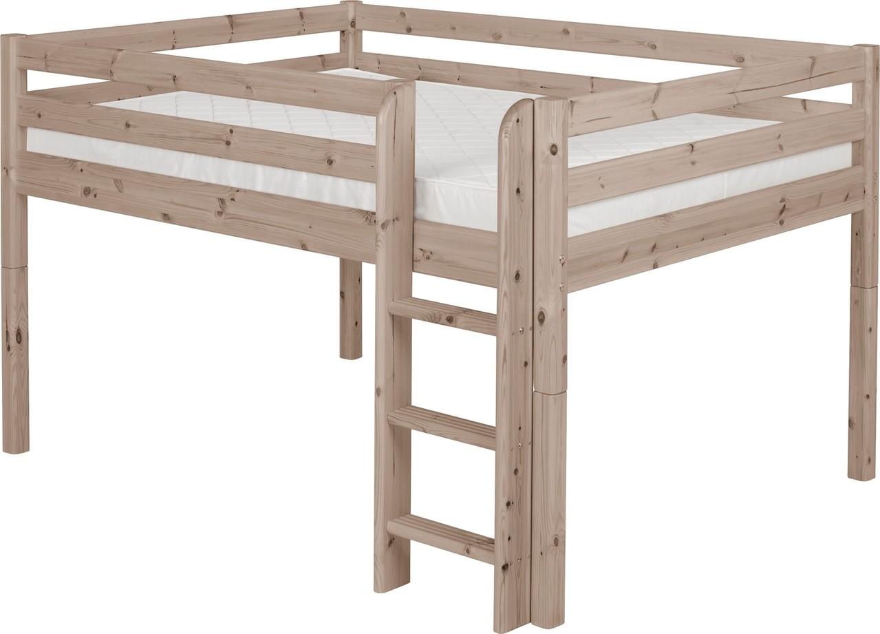 flexa classic wei hochbett kinderzimmerei. Black Bedroom Furniture Sets. Home Design Ideas