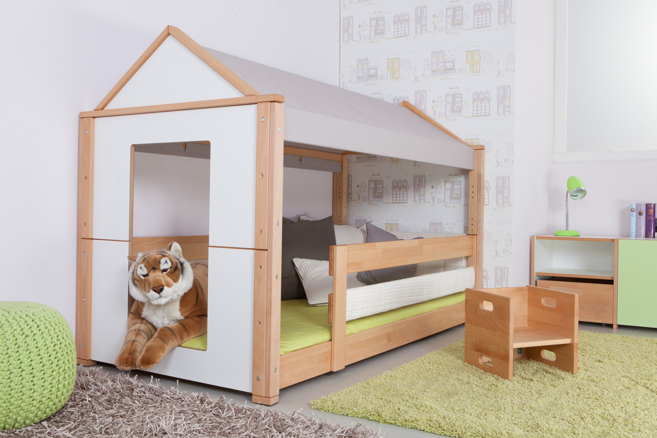dbry kinderhausbett kinderzimmerei. Black Bedroom Furniture Sets. Home Design Ideas