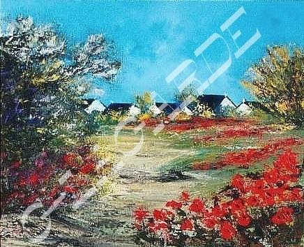 196 Chemin de coquelicots 61x50
