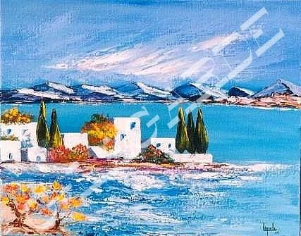 81 Village Grèque  41x33