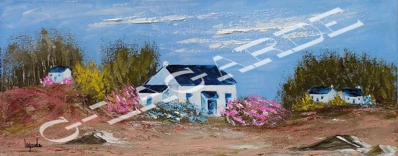 233 La maison aux hortensias 50x20