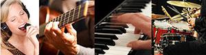Gesangsunterricht, Gitarrenunterricht, Klavierunterricht, Schlagzeuguntzerricht in Hambuug von Musikinspiration - Ronald Troksa
