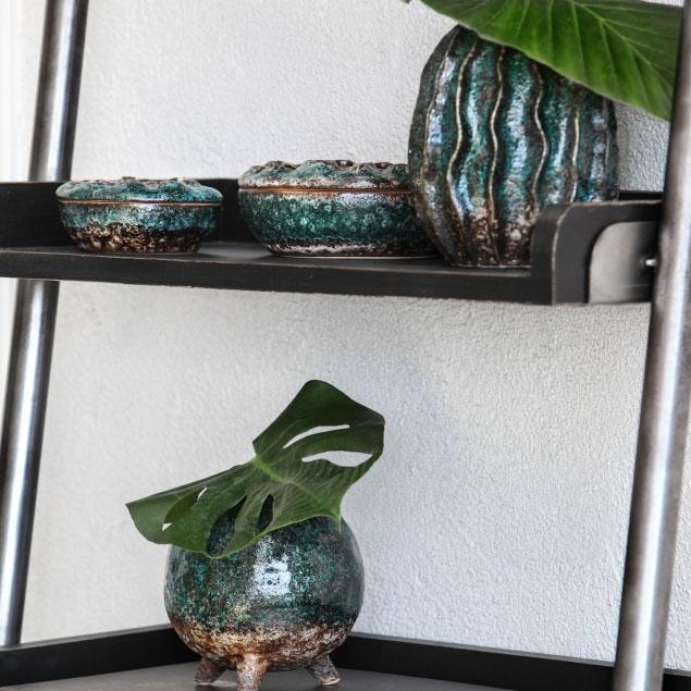 Keramikvasen Smooth Coral, Wavy Coral und Lotus Coral von Miljögarden
