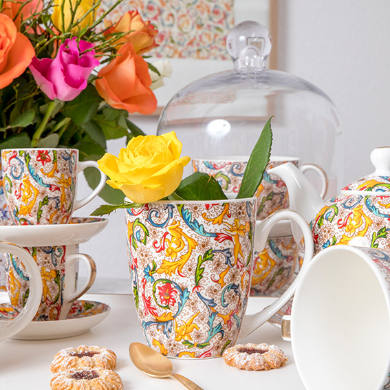 Trend Mug - große Porzellantasse von PPD - Grafiche Tassotti
