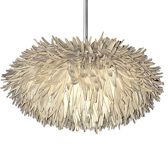 Cocoblüte Hängeleuchte groß weiss - Lampen online kaufen bei Lebenswerte