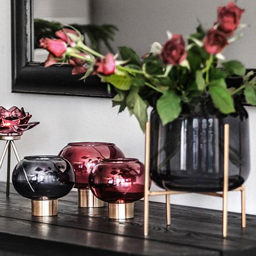 Blumenvasen aus Glas & Keramik von Miljögarden