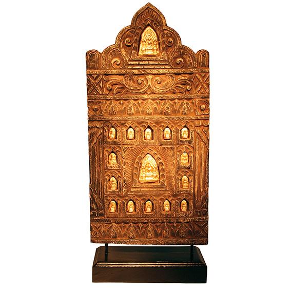 Buddhastelen aus Thailand