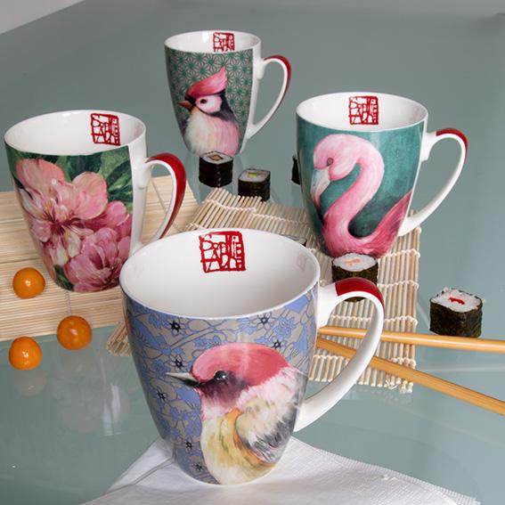 Trend Mug - große Porzellantasse von PPD - Designer Sopie Adde