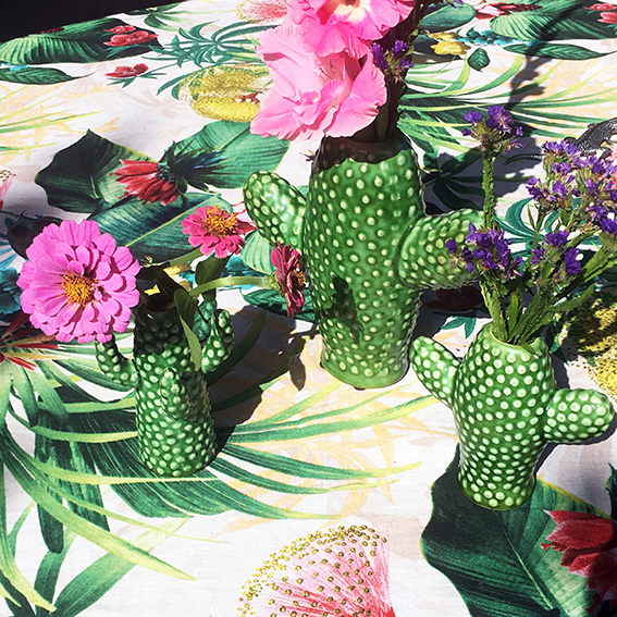 Cactusvasen aus Keramik von SERAX