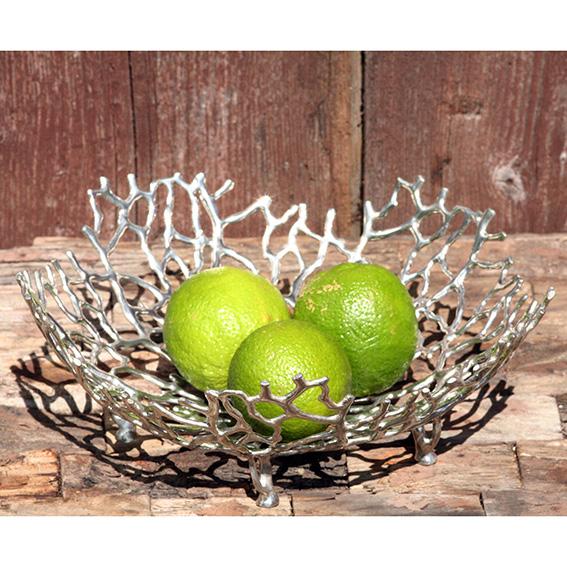 Obstschalen und Dekorationsschalen aus Zinn - von LOYFAR