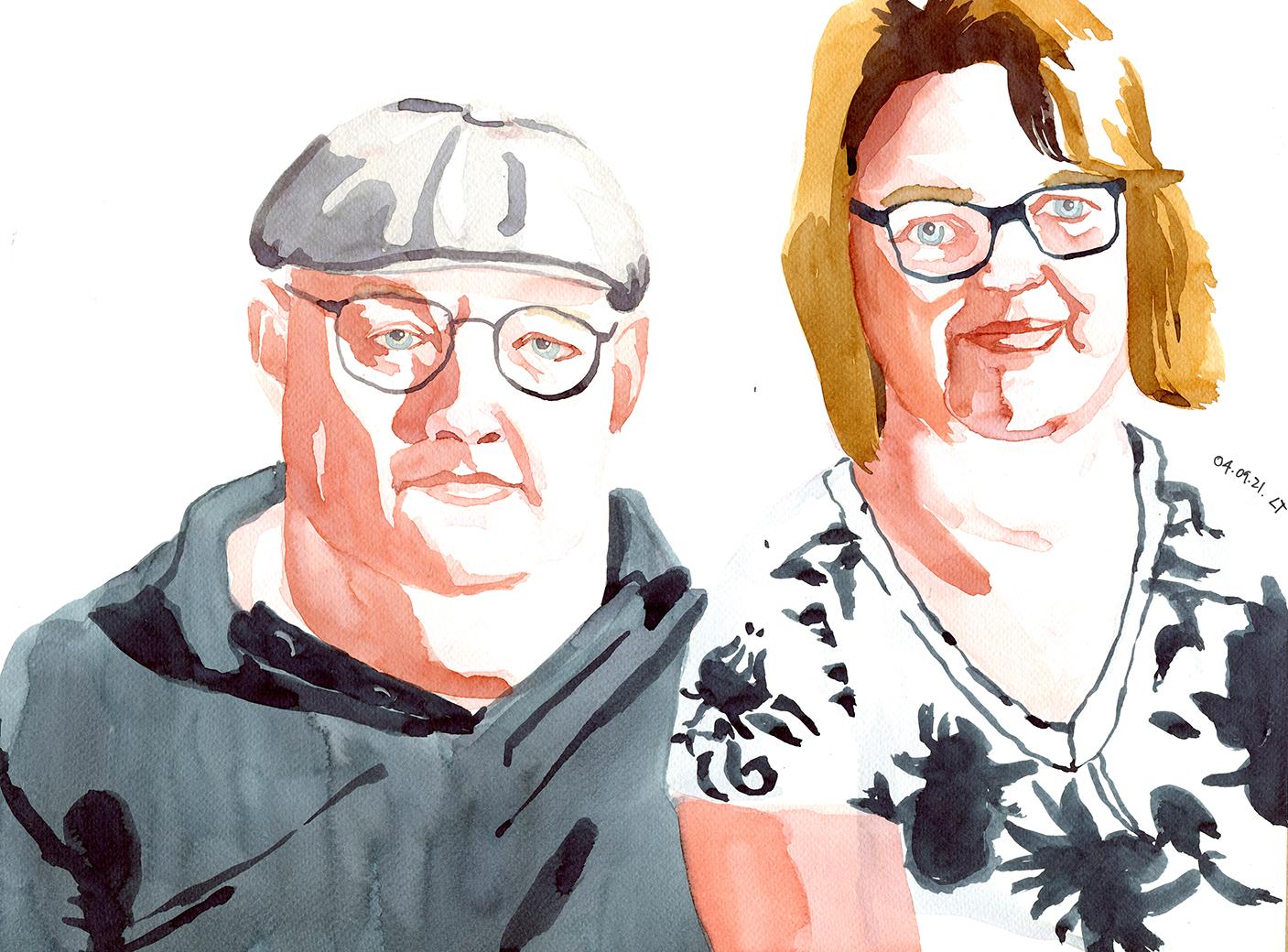 Jolanda und Stefan