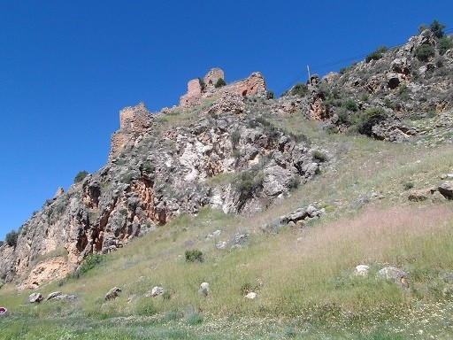 Burg in der Sierra de Albarrecín