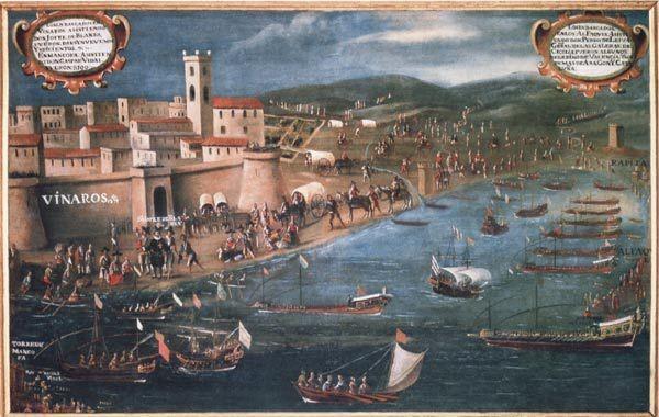 Pere Oromig und Francisco Peralta (1613): Einschiffung der Morisken in Vinaroz