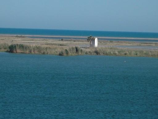 Die Mündung des Ebro