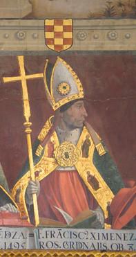 Juan de Borgona: Kardinal Cisneros (Kathedrale Toledo)