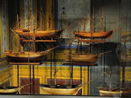 Schiffsmodelle im Museu del Mar