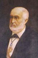 Milà i Fontanals - Portrait von Josep Lluis Pellicer (1842-1901)