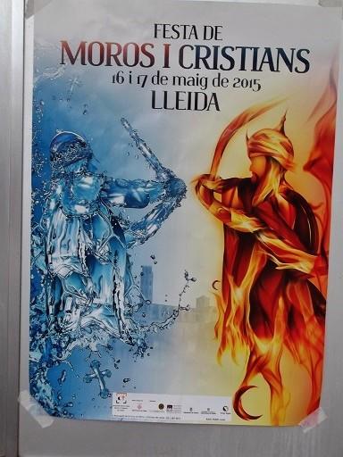 """Beim """"Fest der Mauren und Christen"""" in Lleida besetzen die """"Mauren"""" erneut die Stadt"""