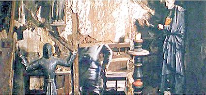 Die Wolfram-Kopie in der Rumpelkammer ( Bildquelle: www.amigosdelromanico.org)