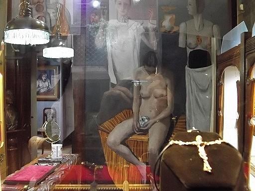 Blick in ein Schaufenster